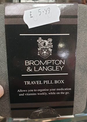 Brompton & Langley Pill Box