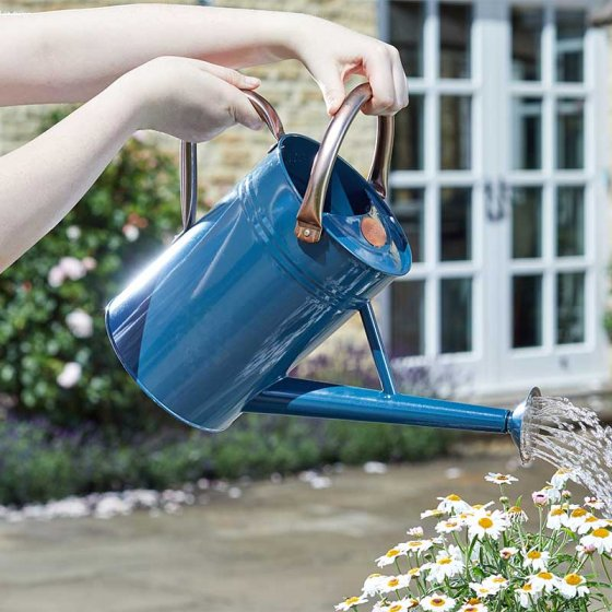 Watering Can 4.5 litre Blue