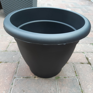 33cm Essential Planter Black