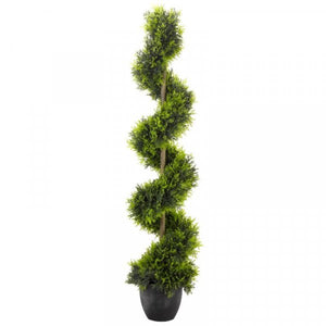 Artificial Cypress Topiary Twirl