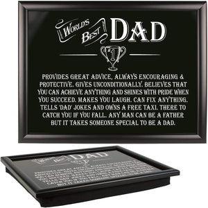 Lap Tray - Worlds Best Dad