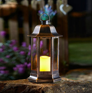 Nordic Battery Candle Lantern