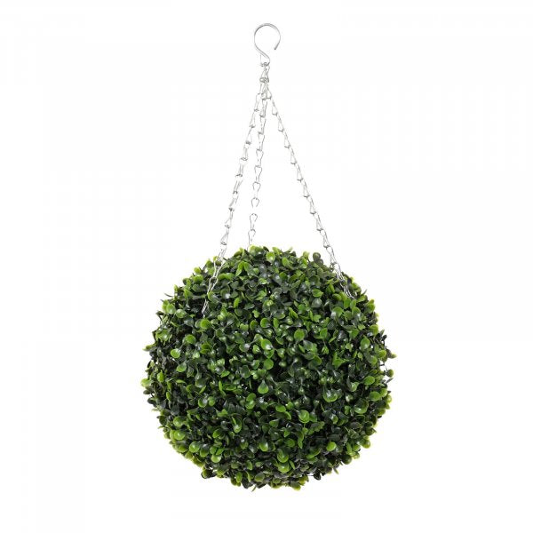 Artificial Boxwood Topiary Ball
