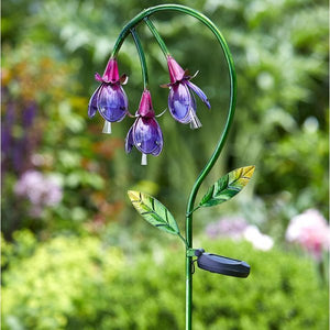 Fuchsia Solar Stake Light