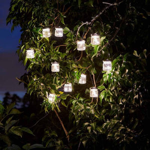 Firefly Jar String Solar Lights