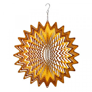 Golden Ray Wind Spinner
