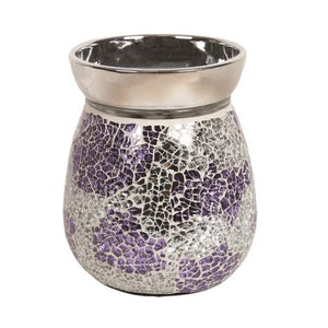 Aroma Crackle Purple Electric Wax Melt Burner