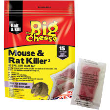 Big Cheese Mouse & Rat Killer Pasta Sachets (15 Pack)