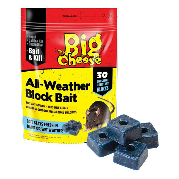 Big Cheese All Weather Block Bait (30 Blocks)
