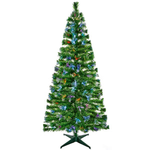 Premier 1.8m/6ft Fibre Optic Burst Tree with Colour Change LEDs