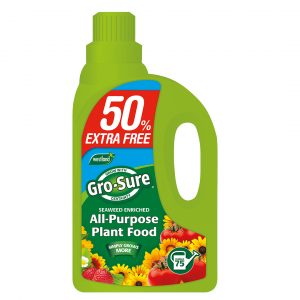 Westland Gro-Sure Super Enriched All Purpose Plant Food 1L + 50% Extra free