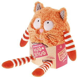 Microwaveable Hug a Snug:  Ginger Cat