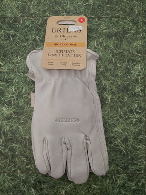 Briers Ultimate Lined Leather Gloves