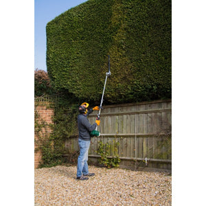 Webb Petrol Long Reach Hedge Trimmer 26cc