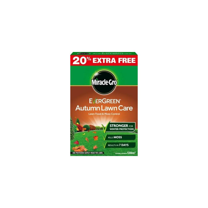 Miracle Gro Evergreen Autumn Lawn Care 100sqm + 20% Free