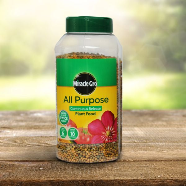 Miracle Gro Slow Release All Purpose Plant Food Jar 1KG