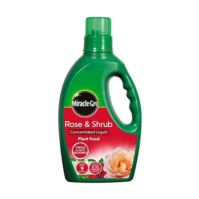 Miracle Gro Rose and Shrub Concentrate Bottle 1L