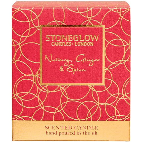 Stoneglow Nutmeg, Ginger & Spice Scented Candle