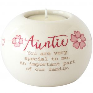 Arora Auntie Ceramic Tealight