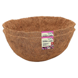 "Smart Garden 14"" Basket Coco Liner Twin Pack"