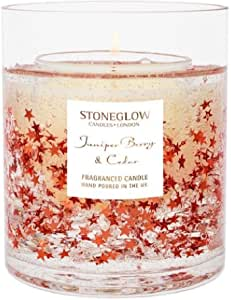 Stoneglow Seasonal Juniper Berry & Cedar Fragranced Candle