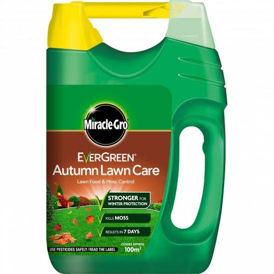 Miracle Gro Evergreen Autumn Lawn Care Spreader 100sqm