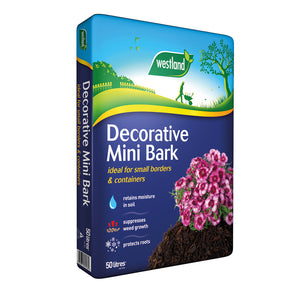 Westland Decorative Mini Bark Chip 70L
