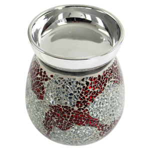 Aroma Crackle Red Electric Wax Melt Burner
