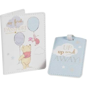 Disney First Passport and Luggage Tag