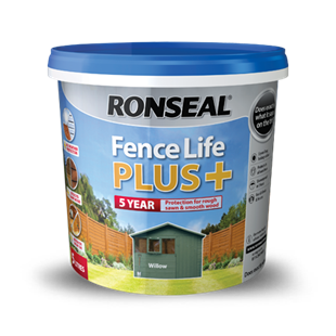 Ronseal Fence Life Plus+ 5 Litres Charcoal Grey