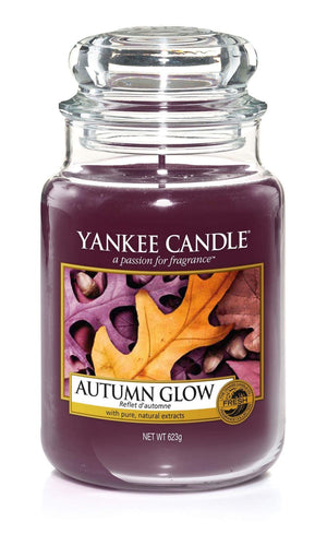 Yankee Candle Autumn Glow Large Jar