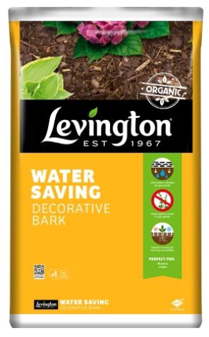 Levington Water Saving Chip Bark 75L