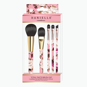 Vintage Floral Make Up Brush Set