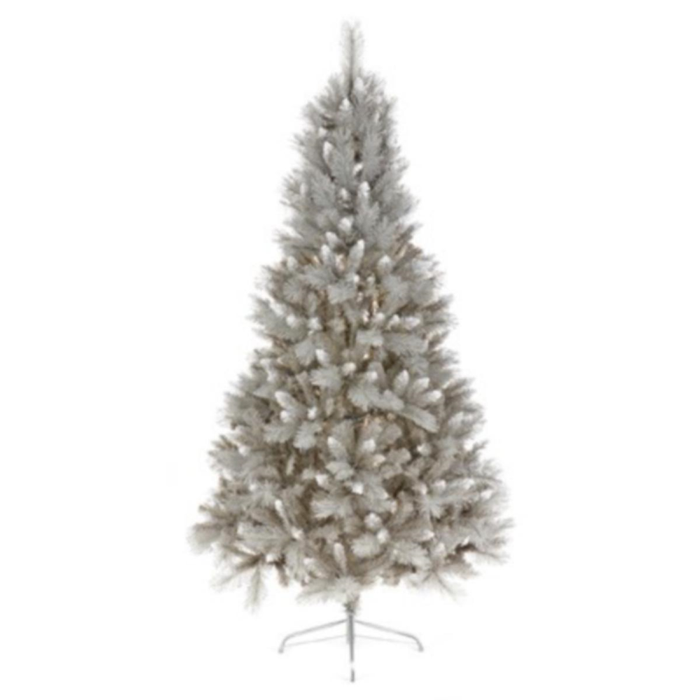 Grey with Silver Tip 2.1m/7ft Artificial Tree