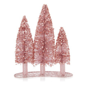 Sequined Triple Tree Table Decoration