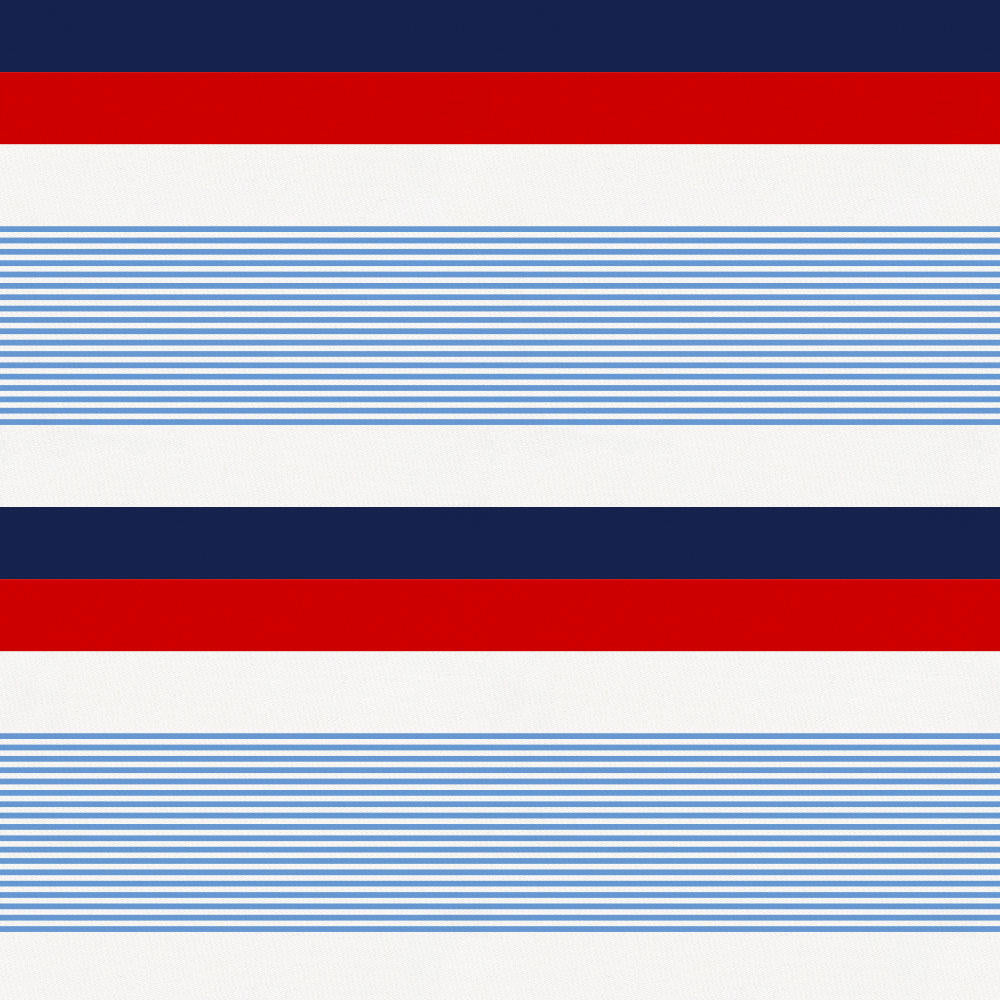 Red and Blue Stripe