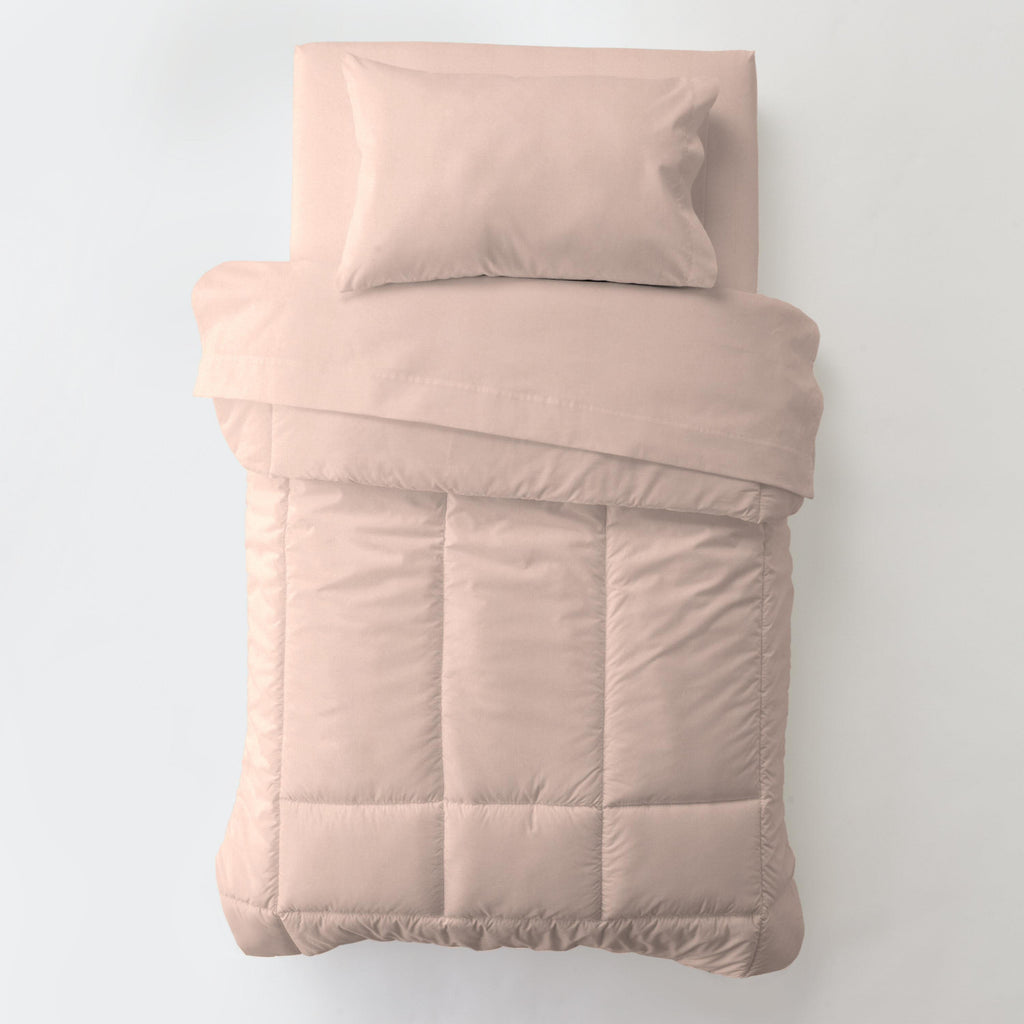 Product image for Solid Peach Toddler Comforter