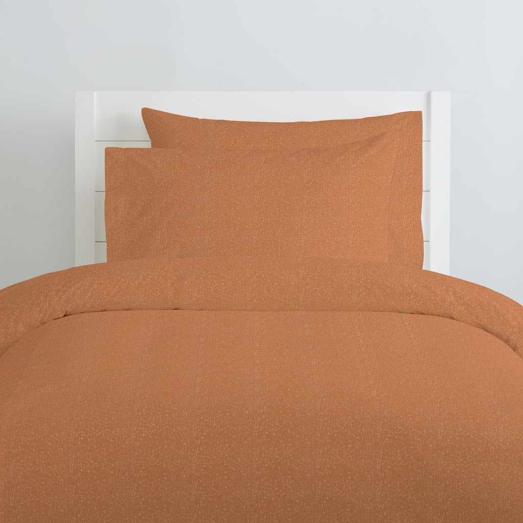 Product image for Fox Orange Heather Duvet Cover