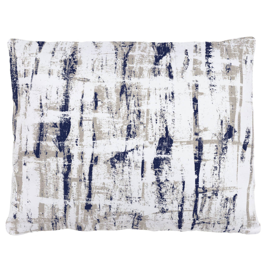 Product image for Navy and Taupe Birch Accent Pillow