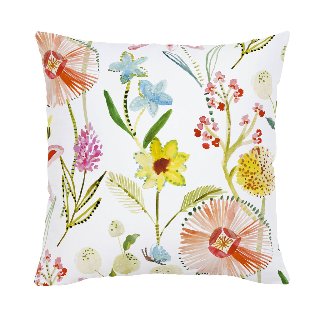 Product image for Watercolor Springtime Throw Pillow