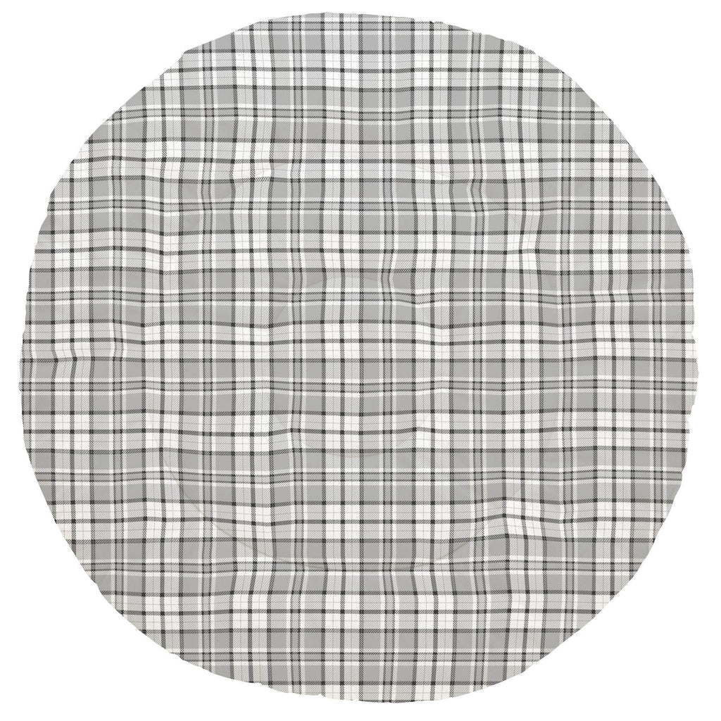 Product image for Gray Plaid Baby Play Mat