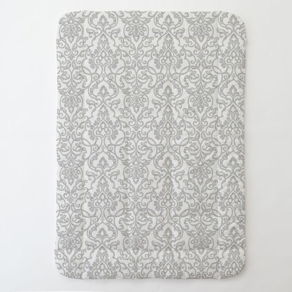 Product image for Gray Filigree Toddler Comforter
