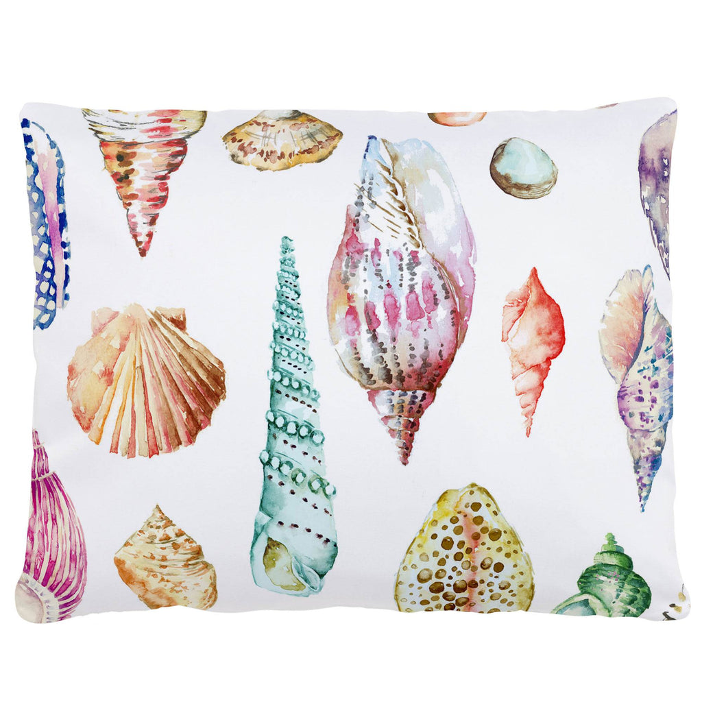 Product image for Watercolor Seashells Accent Pillow