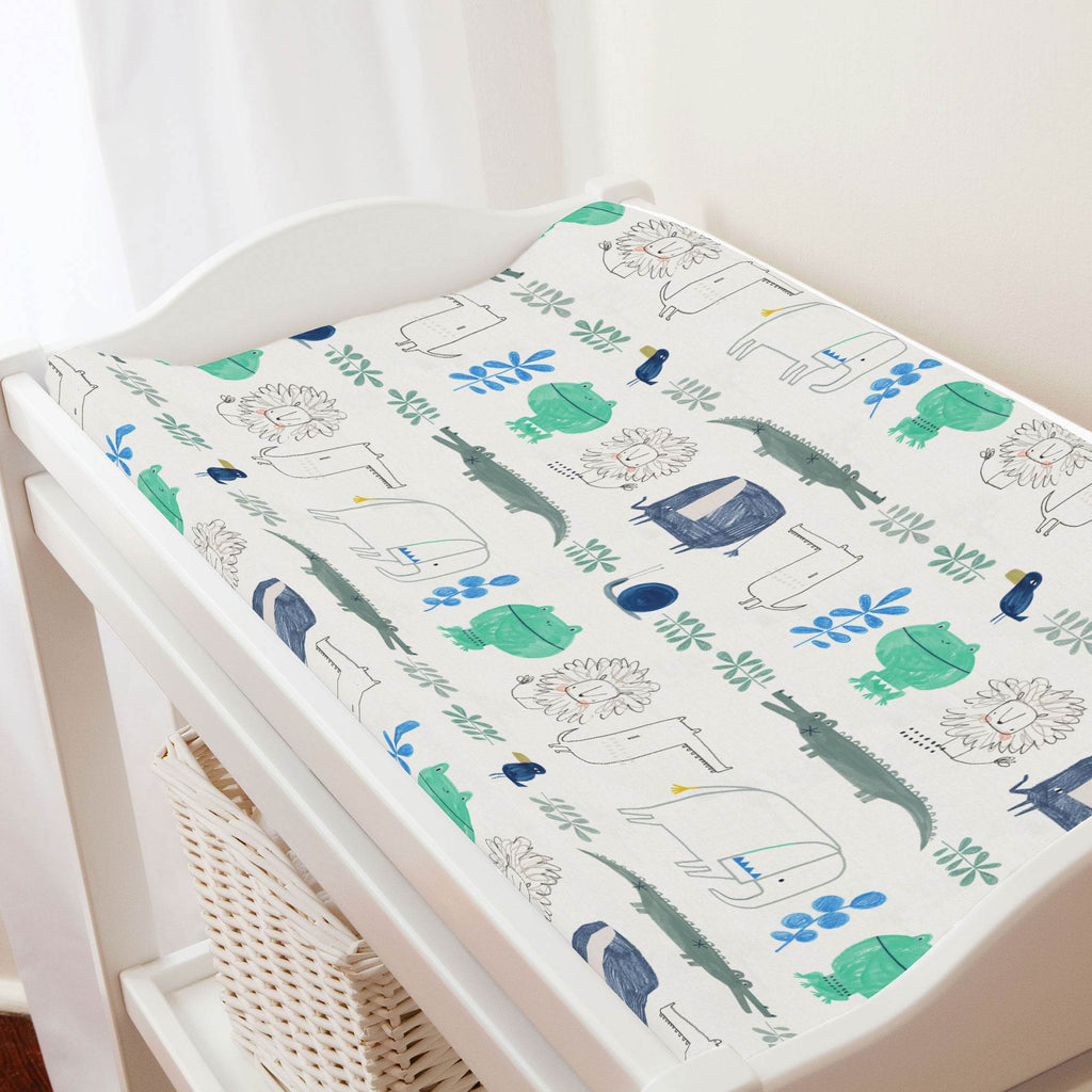Product image for Safari Friends Changing Pad Cover