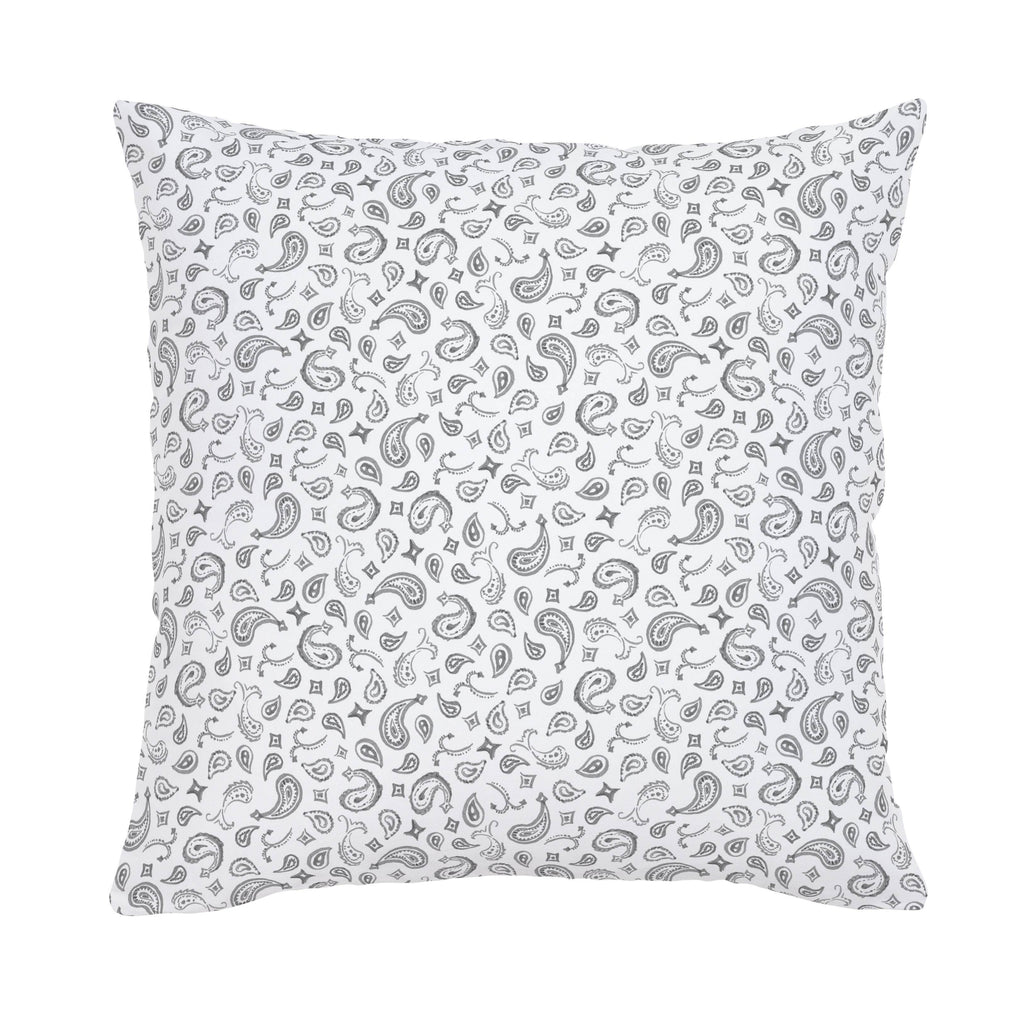 Product image for Bandana Paisley Throw Pillow