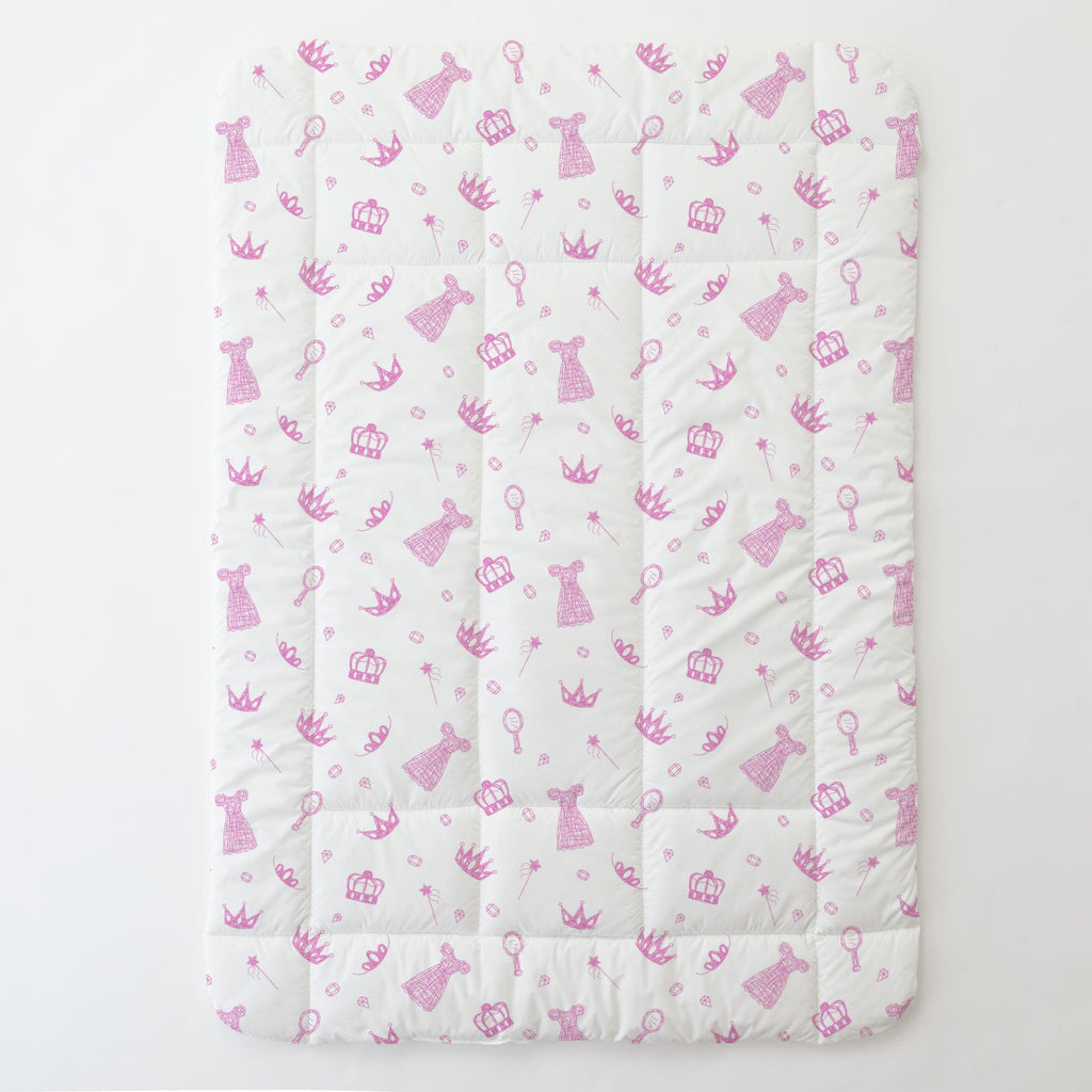 Product image for Hot Pink Princess Toddler Comforter