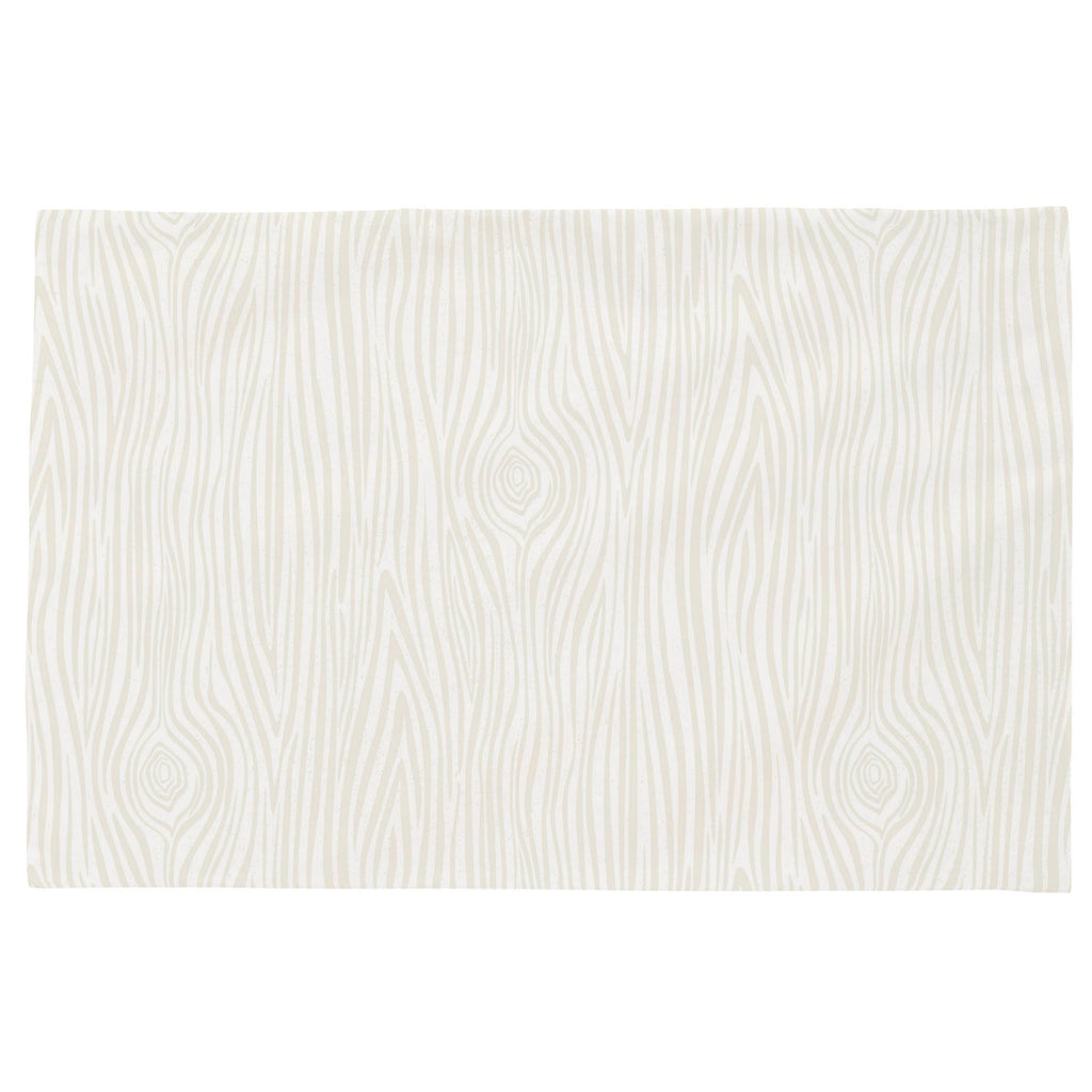 Product image for Ivory Woodgrain Toddler Pillow Case