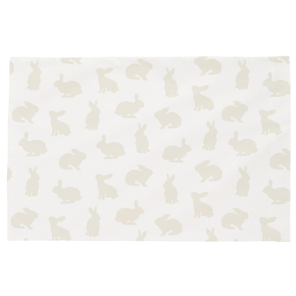 Product image for Ivory Bunnies Toddler Pillow Case