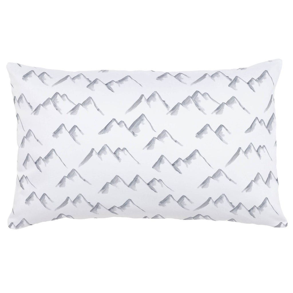 Product image for Watercolor Mountains Lumbar Pillow
