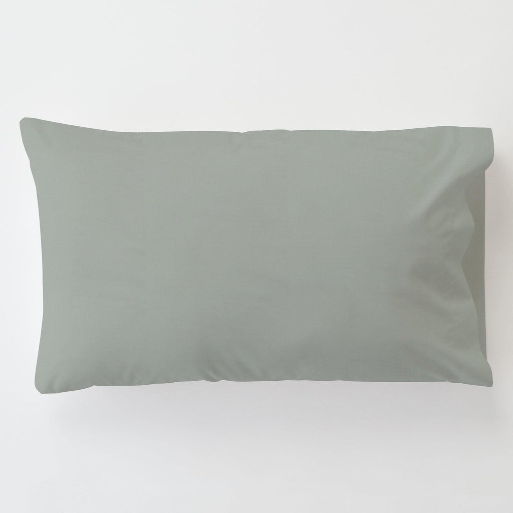 Product image for Solid Cloud Gray Toddler Pillow Case with Pillow Insert